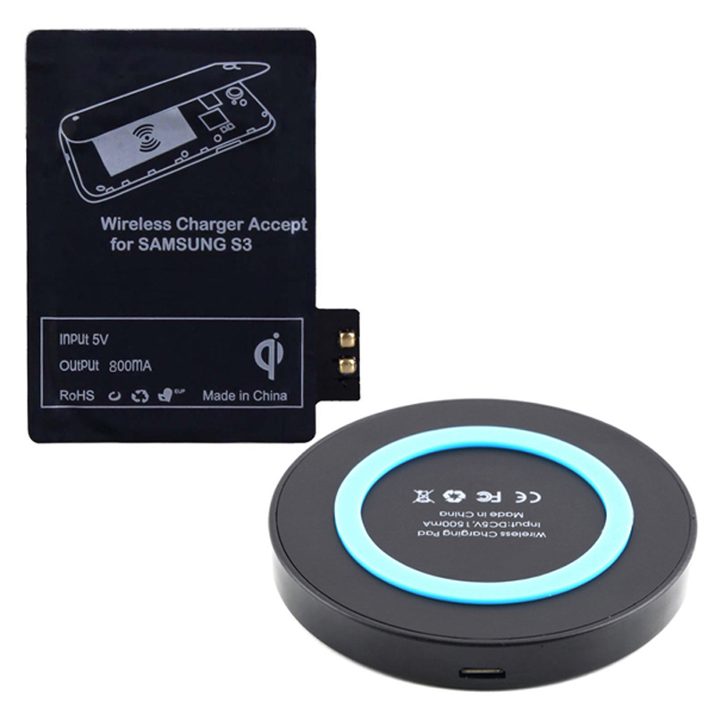fashion qi wireless charging kit for samsung galaxy s3 i9300 wireless charger in chargers. Black Bedroom Furniture Sets. Home Design Ideas