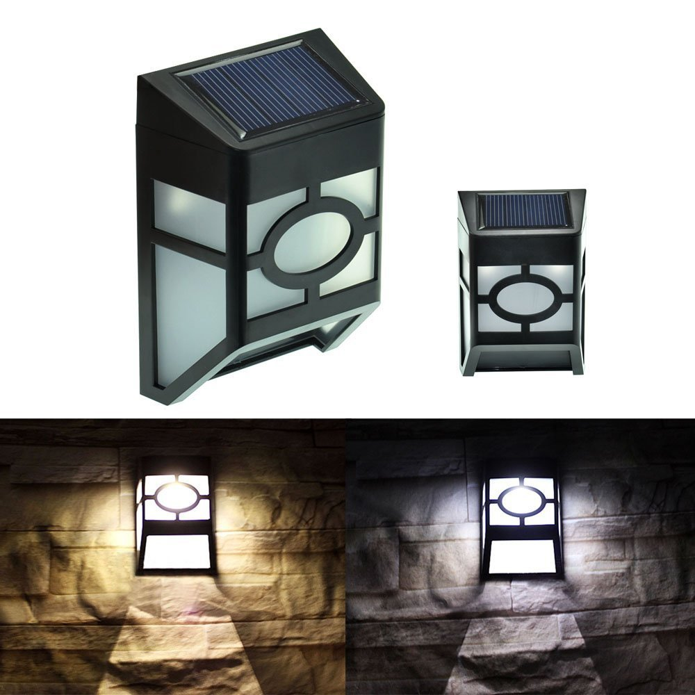 GoesWell LED Solar Light Garden Lantern Outdoor Waterproof 2LEDs Yard Wall Decoration Voice Control System(China (Mainland))