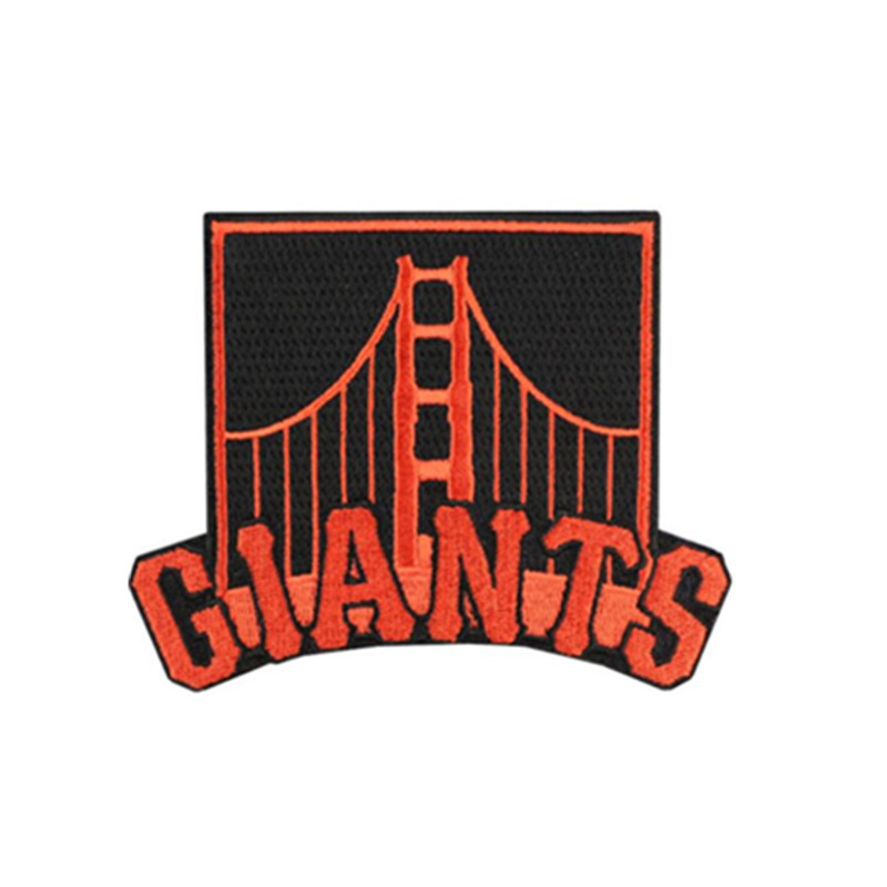 San Francisco Giants Golden Gate Bridge Logo Sleeve Alternate Jersey Patch MLB Embroidery iron on or sew on(China (Mainland))