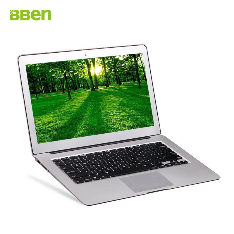 "Bben wifi bluetooth HDMI laptop notebook computer 2gb+64gb fast running intel i3 dual core windows laptop 13.3"" free shipping(China (Mainland))"