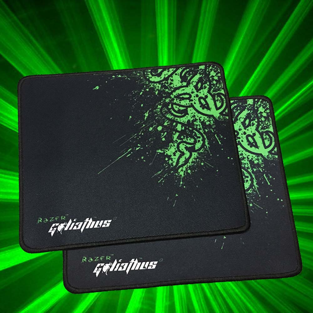 Promotion Razer Goliathus Gaming Mouse Pad 300*250*2 Locking Edge Mouse Mat Speed/Control Version For Dota2 Diablo 3 CS Mousepad(China (Mainland))