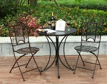 Buy European Style Garden Wrought Iron Balcony Garden Foldin