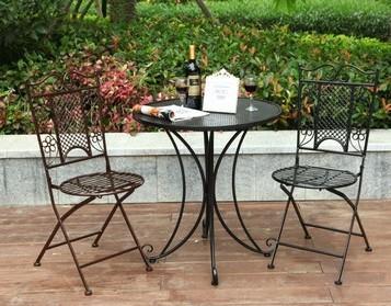 Buy European Style Garden Wrought Iron Balcony Garden Foldin