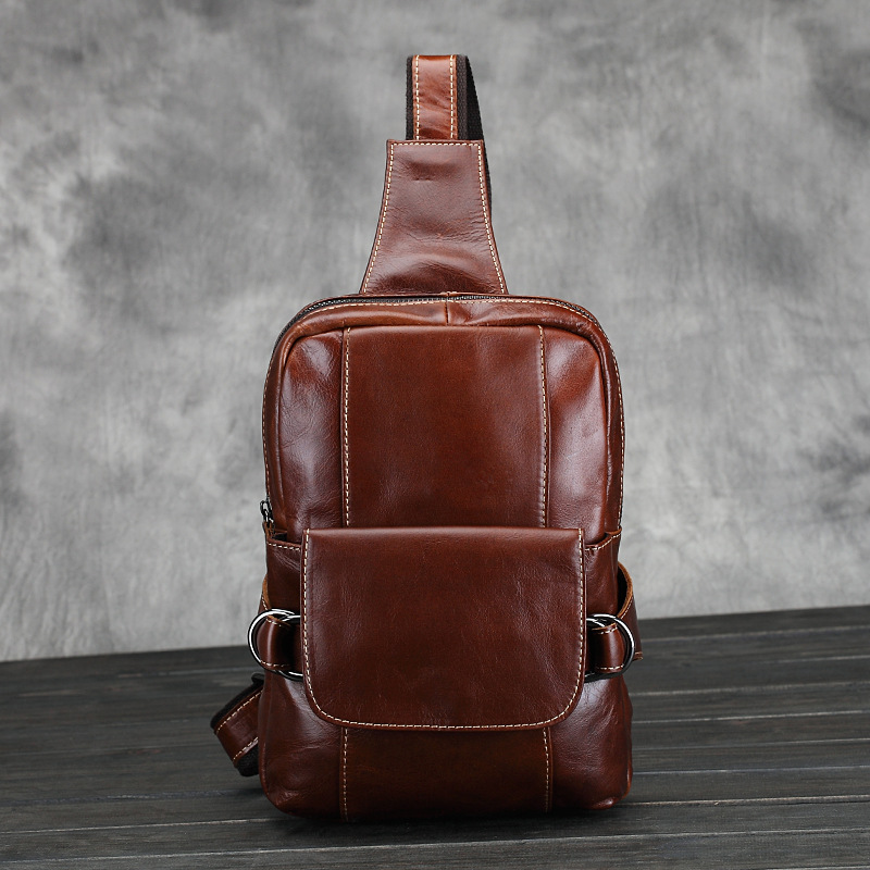 2015 high quality retro fashion genuine leather men messenger bag casual cowhide sports travel shoulder bags for men chest bags