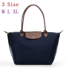 2016 France Popular Top handle Bags Designer Handbags High Quality Nylon Foldable Women Totes bolsos sac