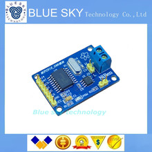 Buy Free 10pcs/lot MCP2515 CAN Bus Module TJA1050 receiver SPI 51 MCU ARM controller for $22.90 in AliExpress store