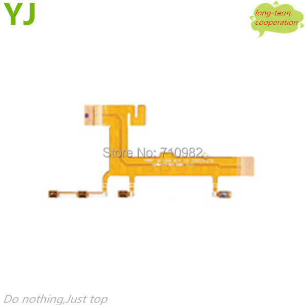 Free shipping for OEM Side Key Flex Cable for Nokia Lumia 625