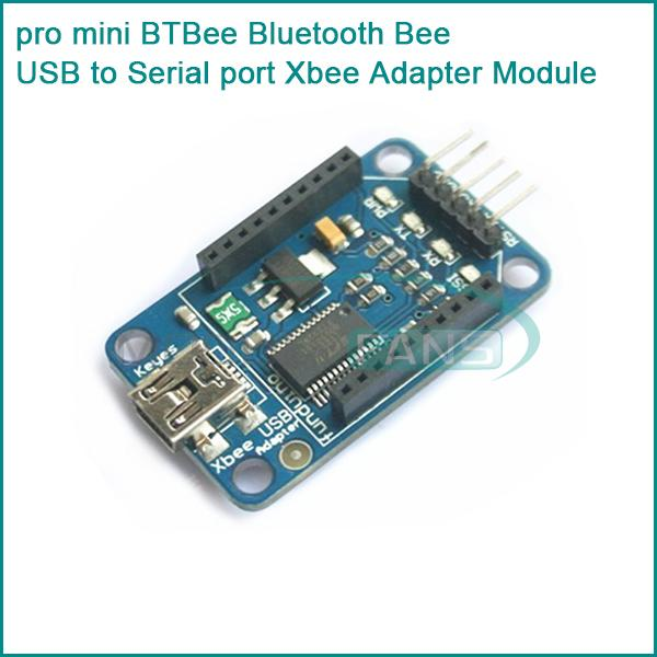 Mini btbee bluetooth bee usb to serial port xbee adapter