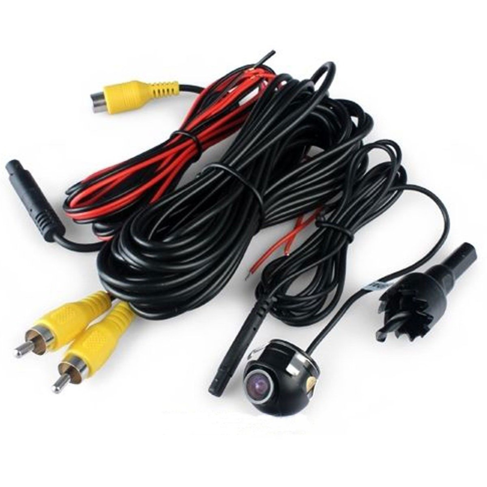 Universal 360 Degrees CCD Car Front/Side/Rear View Reverse Camera Night Vision Free Shipping(China (Mainland))