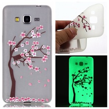 Luminous Case For Samsung Galaxy Grand Prime G530 G5308Q Ultra-thin Night Light Soft Gel Silicone Phone Cover Coque *