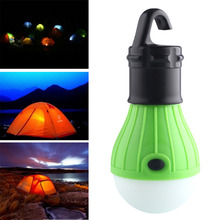Soft Light Outdoor Hanging LED Camping Tent Light Bulb Fishing Lantern Lamp Wholesale free shipping(China (Mainland))