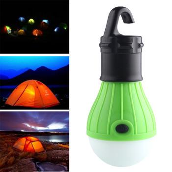 Мягкий Свет Открытый Висит LED Camping Tent Свет Лампы Рыбалка Фонарь Лампа Оптовая бесплатная доставка