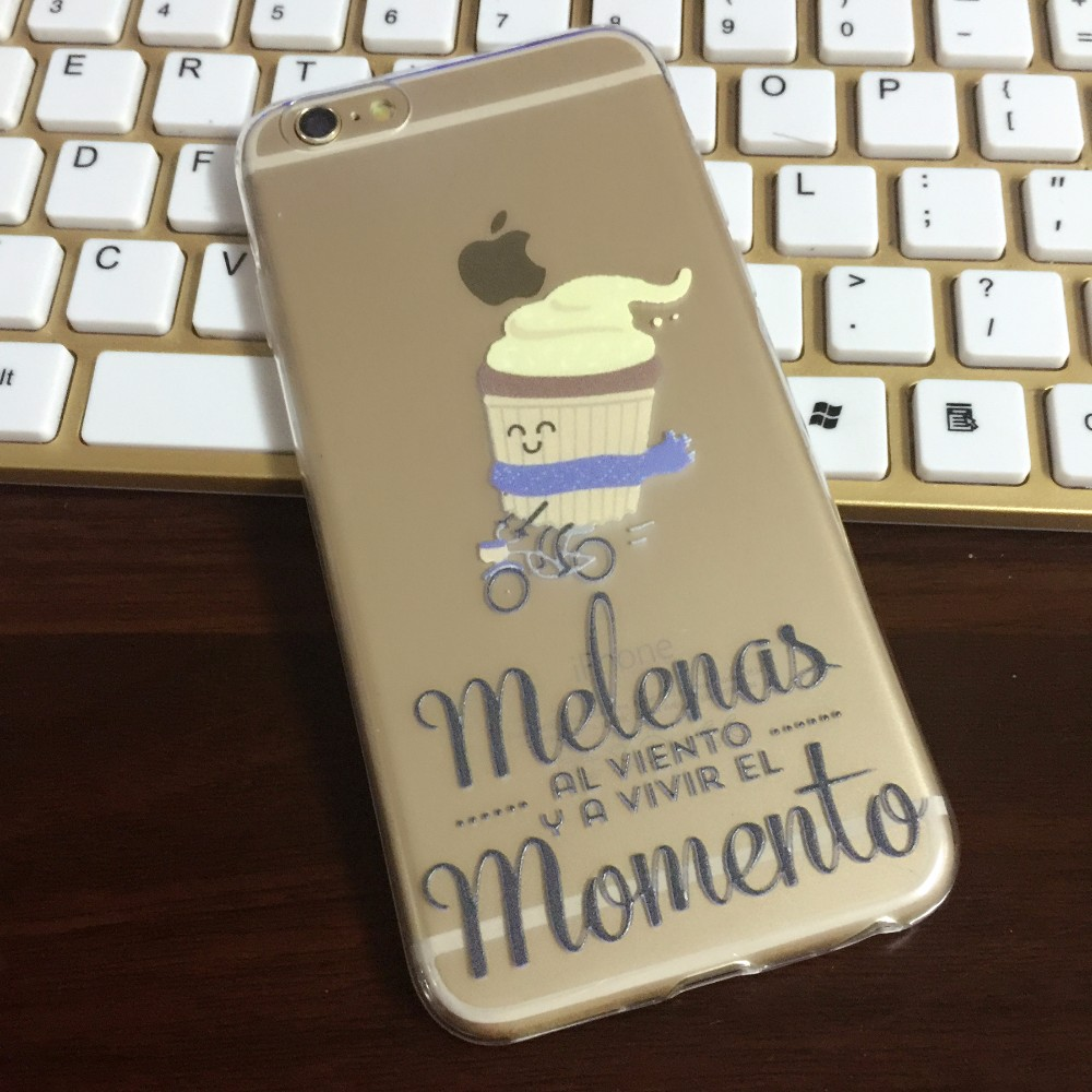 For iPhone case Mr wonderful series Cartoon Transparent soft TPU scratch-proof cases cover for iPhone7 7plus 6 6S 5S SE 6plus