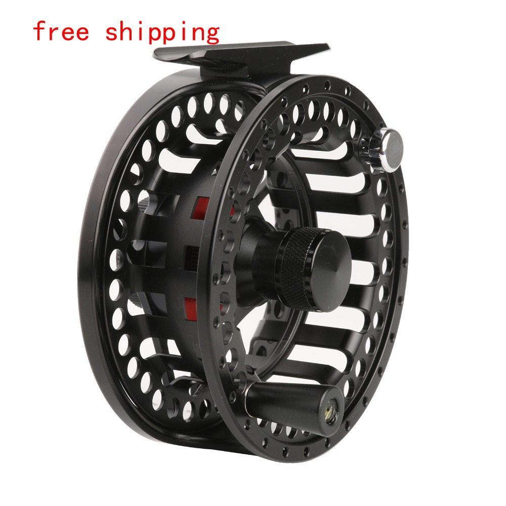 Free shipping! Top quality MC 5/7 weight fishing reels made in China Large arbour Aluminum Chinese CNC Fly reel<br><br>Aliexpress