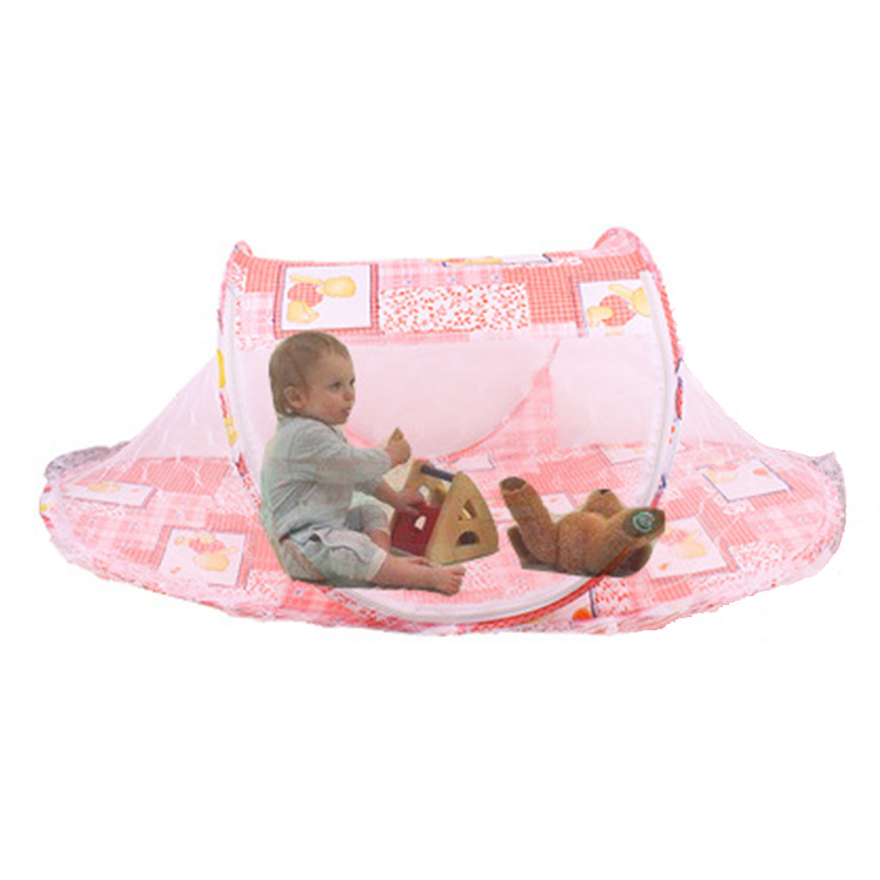 Summer Mosquito Net Baby Cradle Portable Crib Net Bed Folding Bed Newborn Sleeping Bed Travel Mosquiteiro(China (Mainland))
