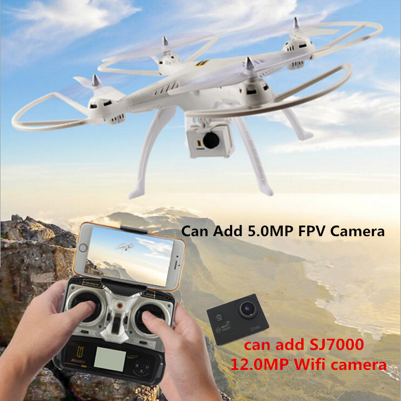 HQ H899 rc drone with camera or without camera Big quadcopter 2.4G drones can add SJ7000 camera rc helicopter VS dron MJX X101(China (Mainland))
