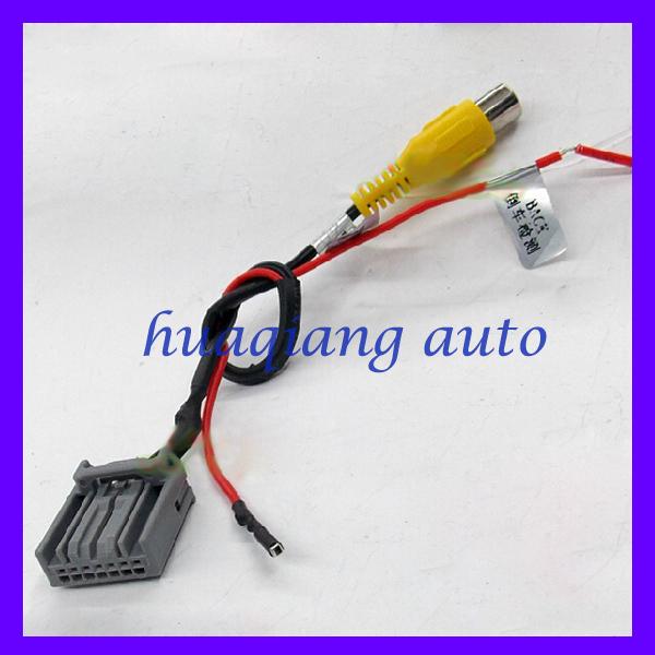 Car CD DVD Changer Rear Video Navigation Convert Cable Adaptor For Honda Civic Honda CRV USA Freeshipping(China (Mainland))