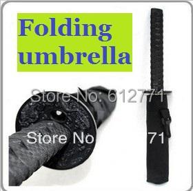 Samurai swords an umbrella, folding umbrella sword, creative umbrella(China (Mainland))
