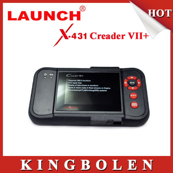 2015 New Released Original Launch X431 Creader VII+ Equal To CRP123 Update Via Offical Website With Dealer Code(China (Mainland))