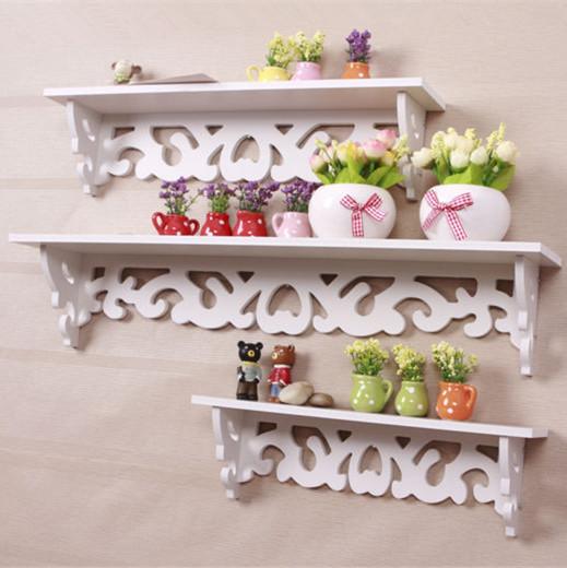 Aliexpress.com : acquista rococo mobili bianco mensola a muro ...