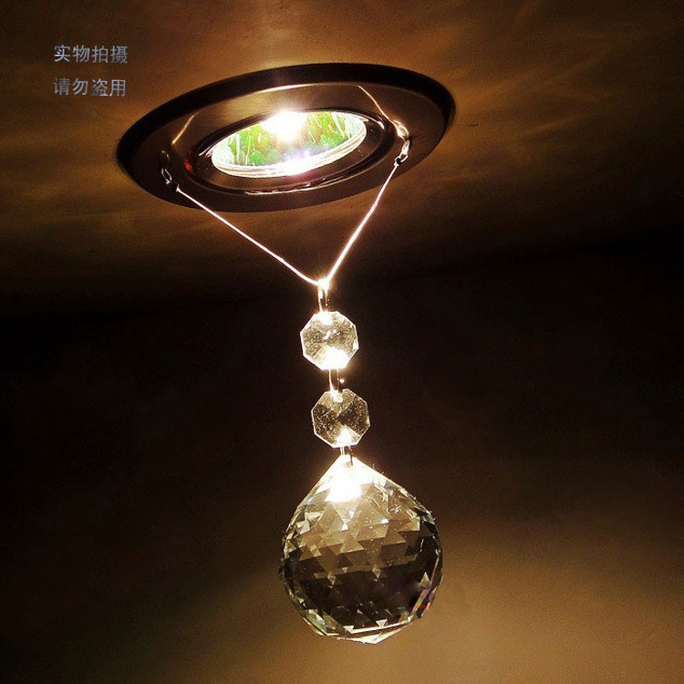 Simple high-power crystal ceiling light / LED Light / led lustre light led Restaurant Ceiling lamps Bedroom 3W Crystal Lighting(China (Mainland))