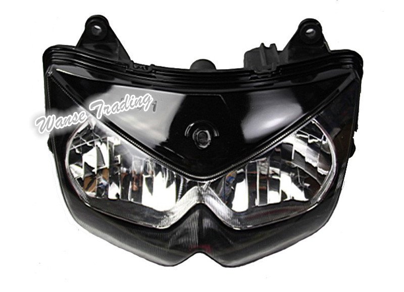 Motorcycle Headlight Assembly : Motorcycle front headlight headlamp head light lamp