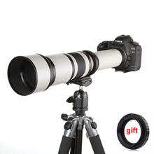 Buy 650-1300mm F8.0-16 Super Telephoto Manual Zoom Lens + T2 Adapter DSLR Canon Nikon Pentax Olympus Sony A6300 A7 A7RII A7S II for $240.11 in AliExpress store