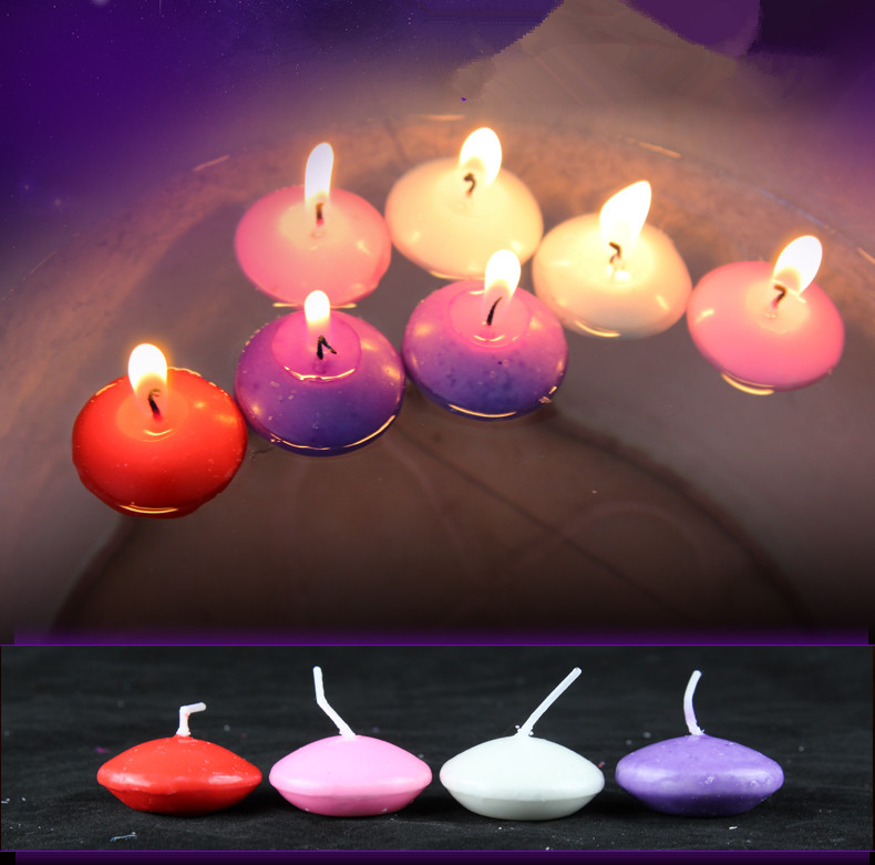 buy 10pcs floating candle tea light smokeless unscented candle for wedding. Black Bedroom Furniture Sets. Home Design Ideas