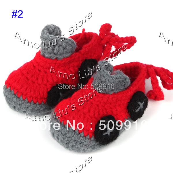nike ganchillo patrón de los zapatos de bebé - Santillana ...