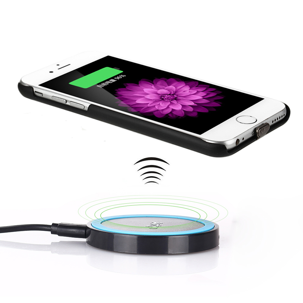 Qi Receiver Case+Wireless Charger Dock Pad Charger for iPhone 6/6S/6 Plus/6S Plus(China (Mainland))