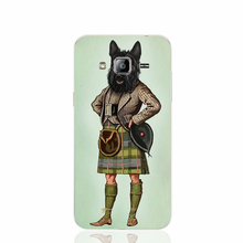 22909 Scottie Dog Kilt scottish terrier Animal cell phone case cover for Samsung Galaxy J1 ACE J5 2016 J7 N9150