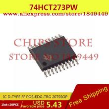 Diy Integrated Circuits 74HCT273PW,112 IC D-TYPE FF POS-EDG-TRG 20TSSOP 74HCT273PW HCT273 74HCT273 2 - Chips Store store