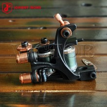 NEW ARRIVAL, Wholesale Price JOHNNY IRONS Tattoo Machines #MJ09-L, 24mm 22uF 10 Wraps Coils Tattoo Gun For Liner,  Free Shipping(China (Mainland))