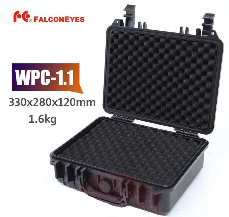 Фотография Falcon Eyes Case WPC-1.1 Photography Photo Equipment Protecting Waterproof Dustproof Shockproof Black Case