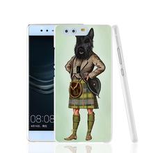 22909 Scottie Dog font b Kilt b font scottish terrier Animal phone Cover Case for huawei