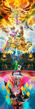 Wall Scroll The Legend of Zelda Skyward Sword cosplay Home Decor Poster