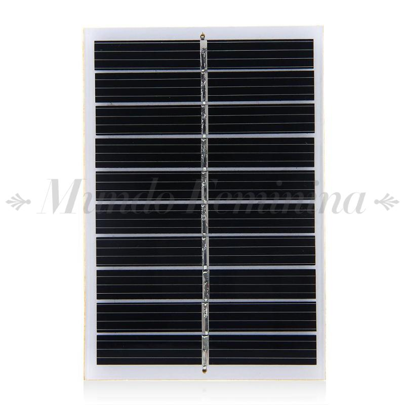 5V 0.8W 160mA Mini Solar Panel Module DIY for Cell Charger(China (Mainland))