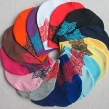 Baby Star Printing Beanie Hats Spring Autumn Cotton Knitted Baby Boy Girl Caps Infant Toddler Headwear Accessories(China (Mainland))
