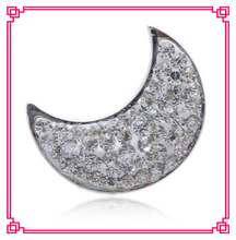 arrive 1 crystal moon snap buttons charms metal button fit diy bracelet jewelry - Cara's Shop For DIY Jewelry store
