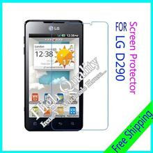 3pcs For LG D290 Clear Glossy Screen Protector, Screen Protective Film For LG D290 With Cloth