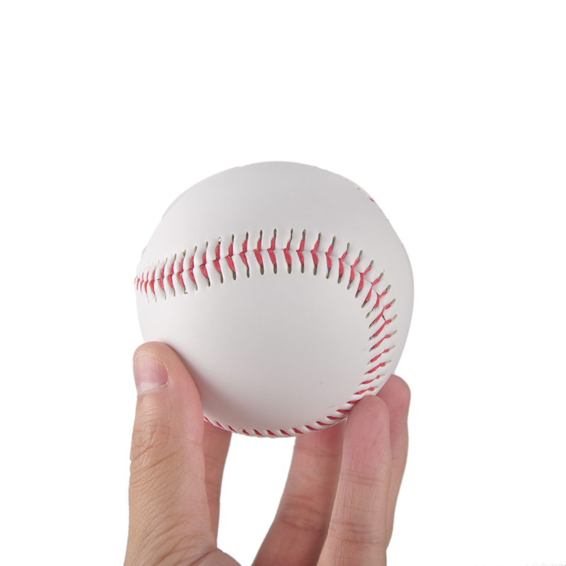 "9"" Handmade Baseballs PVC Upper Rubber Inner Soft Baseball Balls Softball Ball Training Exercise Baseball Balls(China (Mainland))"