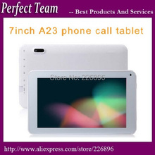 DHL Free Shipping 10pcs/lot 86V 7 inch A23 2G Call Tablet pc Dual core Dual Cameras Android 4.0 Allwinner Cortex A8 Bluetooth(China (Mainland))