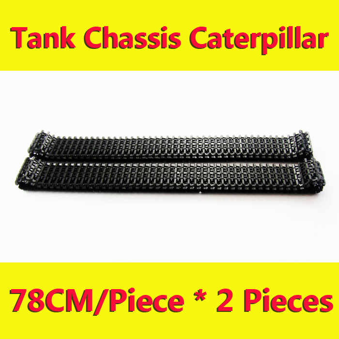plastic Caterpillar Chain Track Pedrail Thread tracker Wheel Tank Crawler Chassis DIY RC Toy remote control uno r3 rpi kit - InRobotics store
