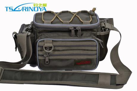 Trulinoya Fishing Bag Multifunctional Waist Pack Messenger Outdoor Tackle - IMKEA Home Decoration's store
