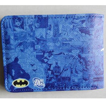 Animated cartoon Batman wallet New Hot DC Comics Batman Bat Logo wallets Purse