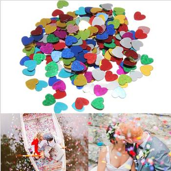 200 шт. многоцветный блеск романтика искра любовь в форме сердца ну вечеринку конфетти украшение стола на день рождения ну вечеринку декоративные материалы