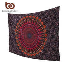BeddingOutlet Boho Tapestry Love Stretches Printed Hanging Wall Tapestries Indian Home Decor 140x210cm 1Pc Fashion(China (Mainland))