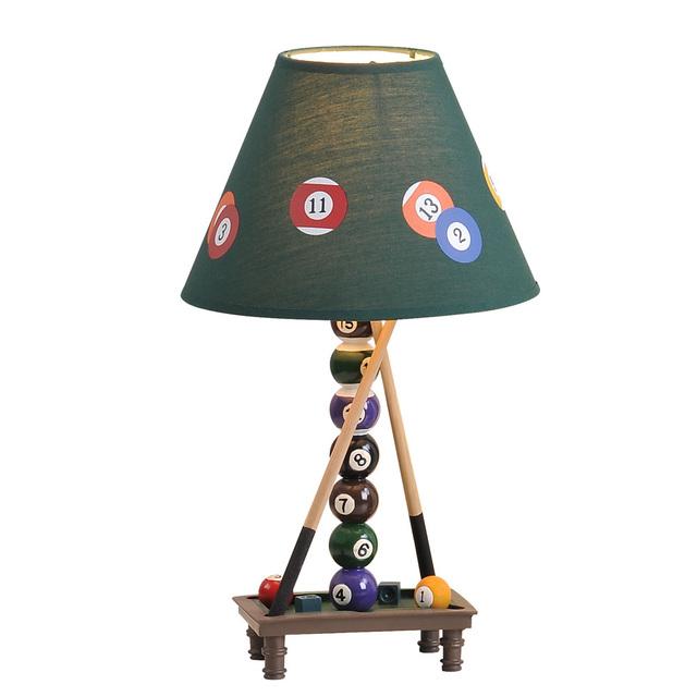 Creative Lamp personality Lighting American cartoon art lamp billiard pool hall lamps