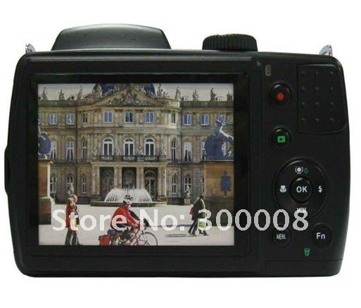 """Free shipping digital reflex camera with 21x optical zoom and 3.0"""" TFT LCD,support to 31 language(Russian,English,Spanish...)"""