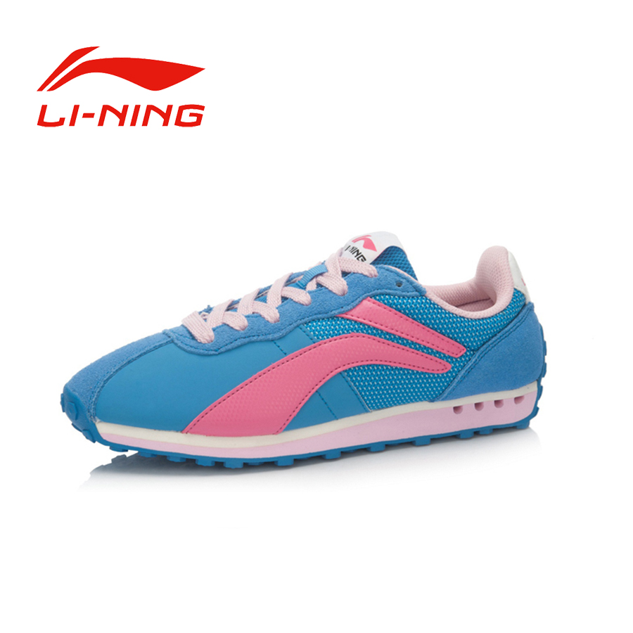 Li-Ning Women's Comfortable Anti-Skid Training Shoes Breathable Light Lace-Up Outdoor Sports Sneakers